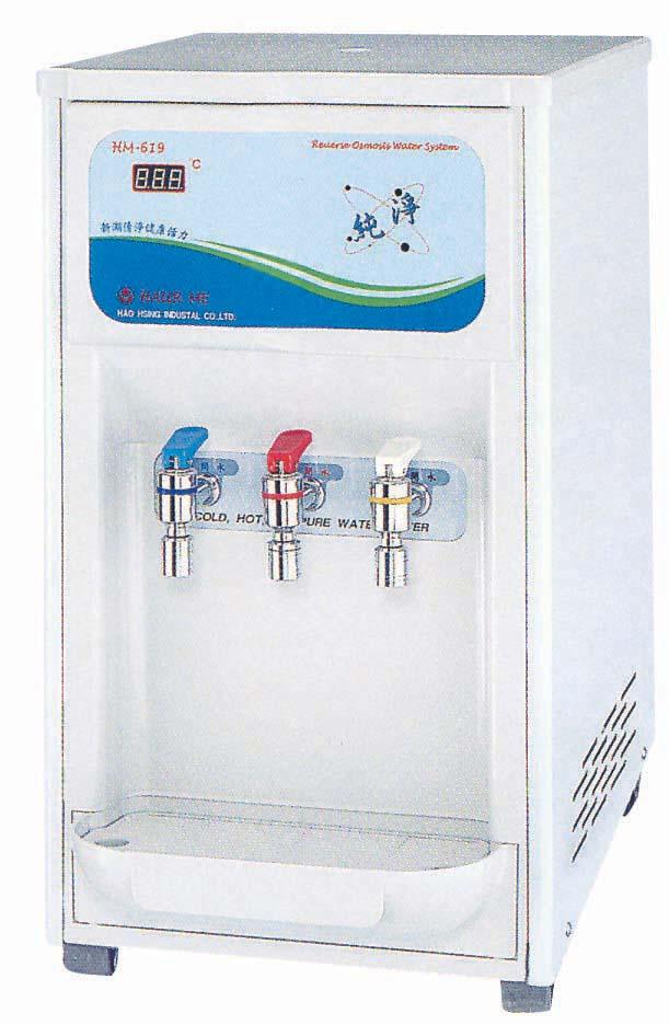 桌上型(溫熱)RO飲水機 HM-6992